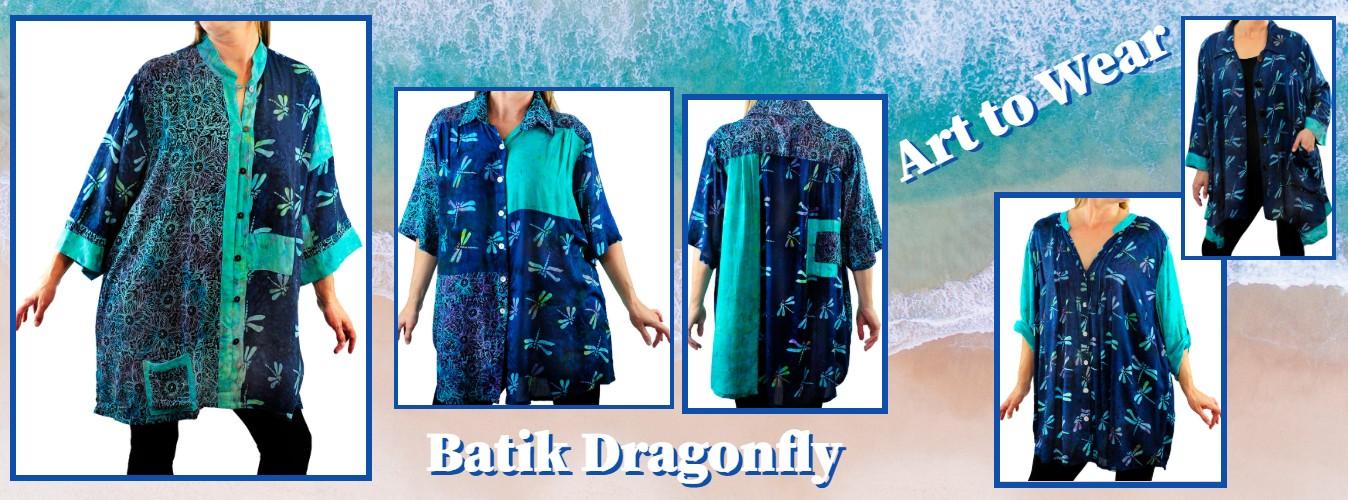 batik dragonfly