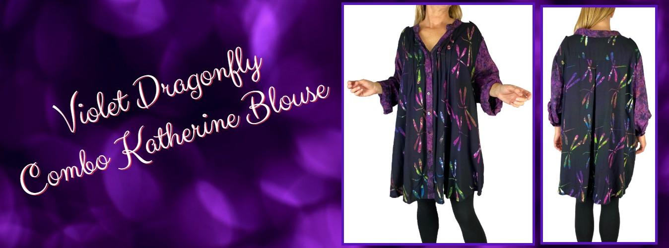 Violet Combo Katherine Blouse