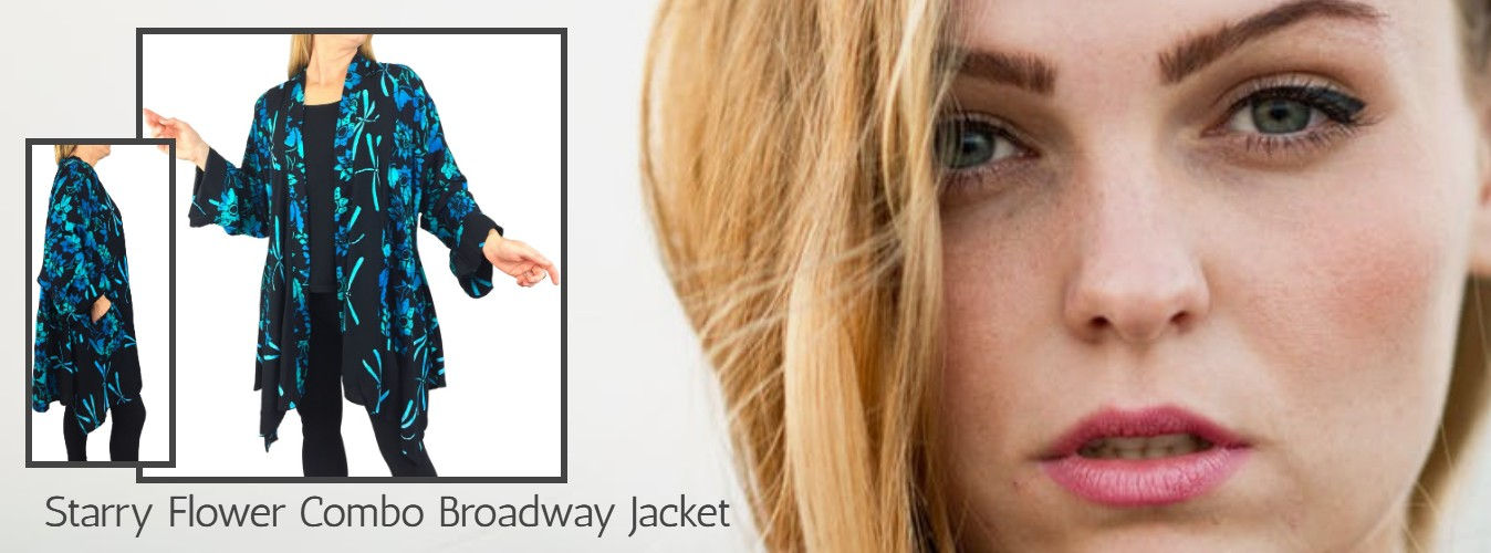 Women's Modern Art to Wear Broadway Jacket