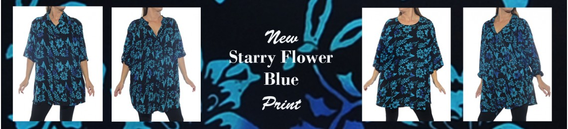 Starry Flower Blue