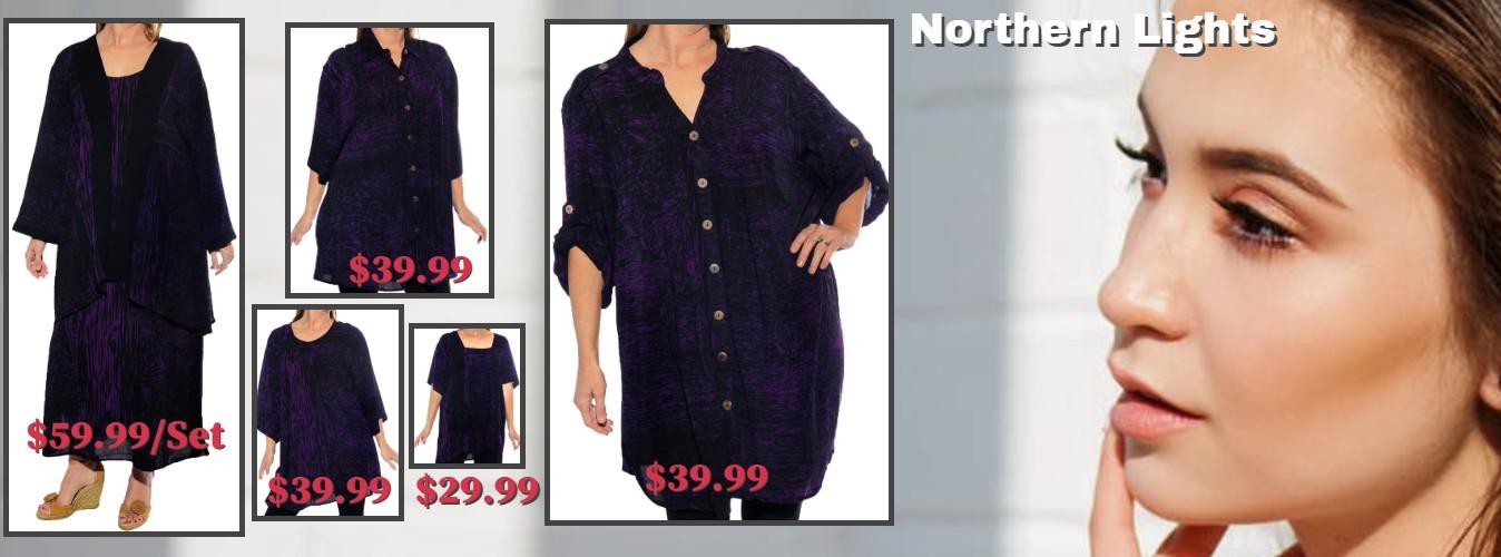 Women's Plus Size Crinkle Tops on Sale