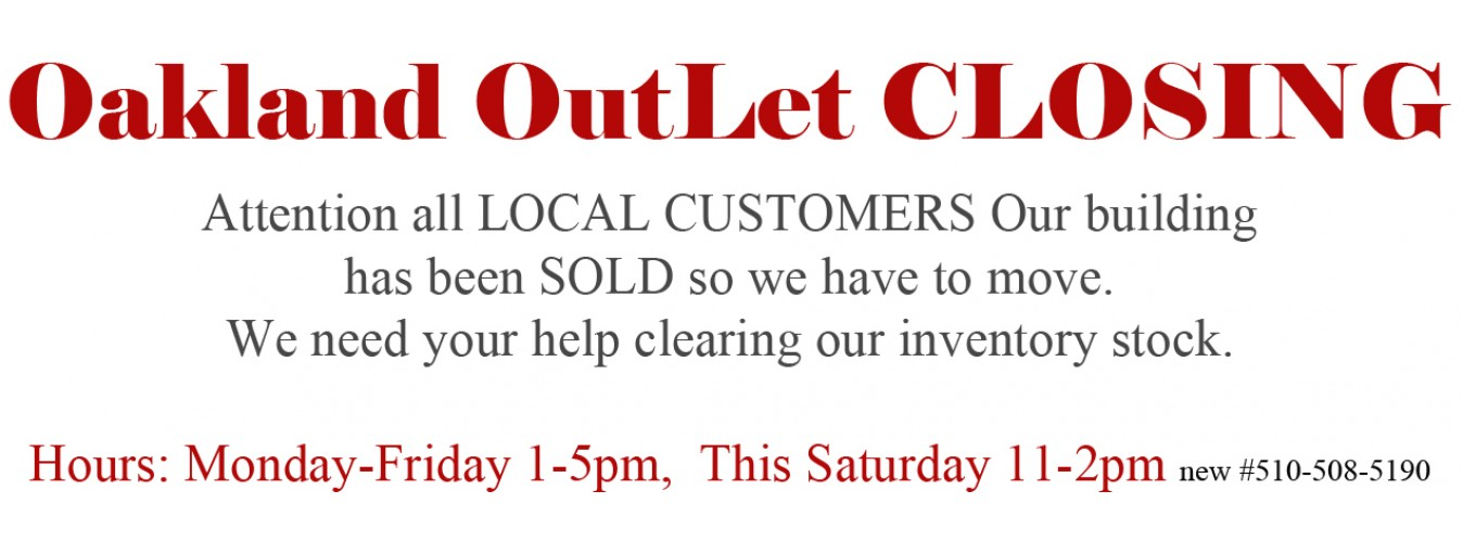 OutLet Closing