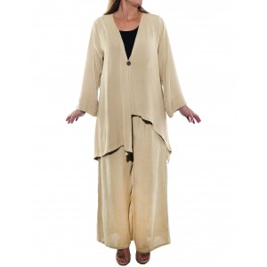 Light Beige Sonoma Top and Pant Set