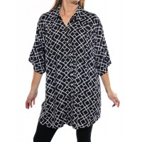Canyon Black New Tunic New Top