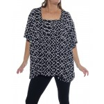 Canyon Black Maxine Blouse