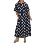 Lattice Easy Dress