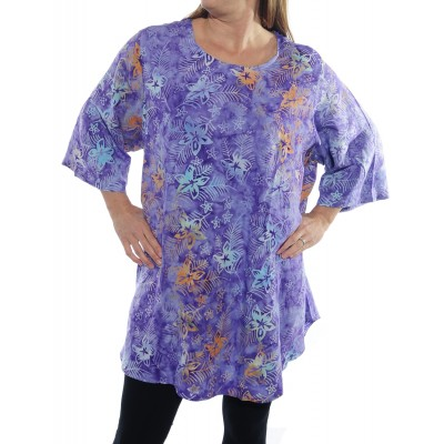 Bali Burst Purple Swing Top
