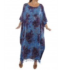 Rolling Meadow Blue Caftan Dress