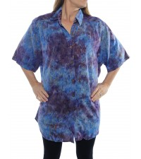 Rolling Meadow Blue New Tunic Top
