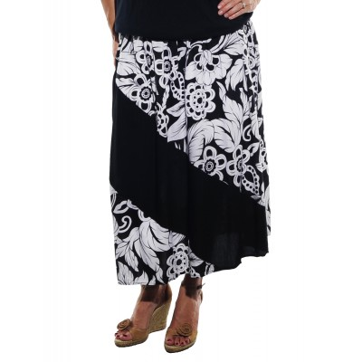 Big Flower COMBO Aline Skirt