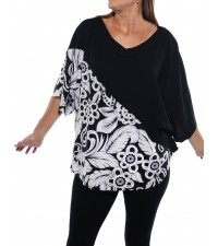 Big Flower COMBO Shell Top