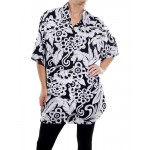 BIG FLOWER New Tunic Top