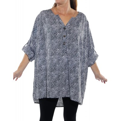 Small Leaf Ashley Blouse