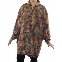 Dancing Reeds Big Shirt Long Sleeve