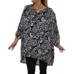 Squiggly Ashley Blouse