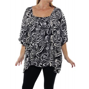 Squiggly Maxine Blouse