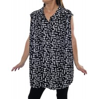 Terraza Summer Sleeveless Shirt