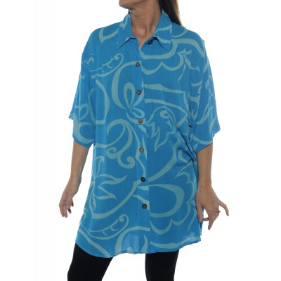 Jenna Blue New Tunic Top