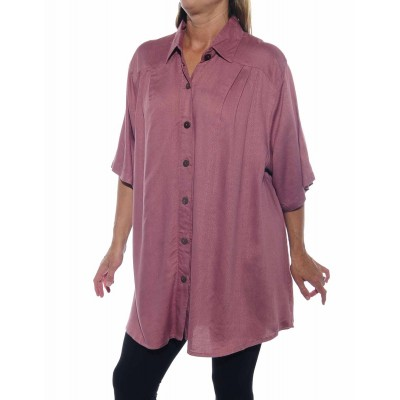 Jacquard Dusty Rose New Tunic Top
