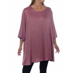 Jacquard Dusty Rose Swing Top