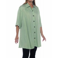 Jacquard Mint New Tunic Top