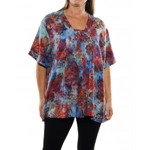 Peke Flower Sunset Jessica Blouse