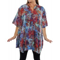 Peke Flower Sunset Kirsten Blouse