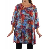 Peke Flower Sunset Swing Top