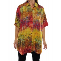 Wild Flower Desert New Tunic Top