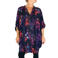 Hibiscus Flower Katherine Blouse