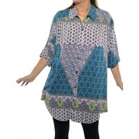 Flower Child New Tunic Top