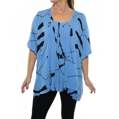 C BLUE Maxine Blouse