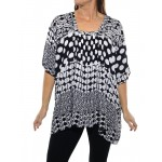 Groove Mix BLACK Maxine Blouse
