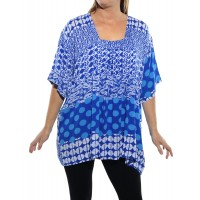 Groove Mix BLUE Maxine Blouse