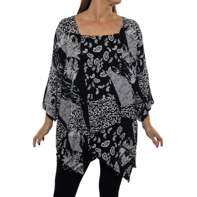 Gypsy BLACK Carmel Top