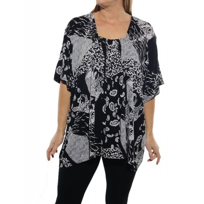 Gypsy BLACK Maxine Blouse
