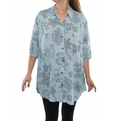 Bombay Sky Blue New Tunic Top