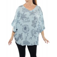 Bombay Sky Blue Shell Top