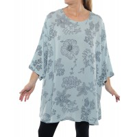 Bombay Sky Blue Swing Top