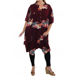 Tea Garden LONG Kirsten Blouse