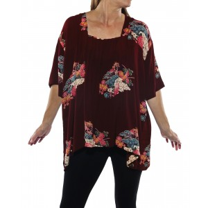 Tea Garden Maxine Blouse
