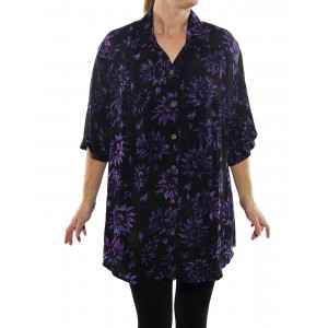 Flower Candy New Tunic Top