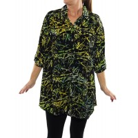 Green Bamboo New Tunic Top