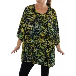 Green Bamboo Swing Top