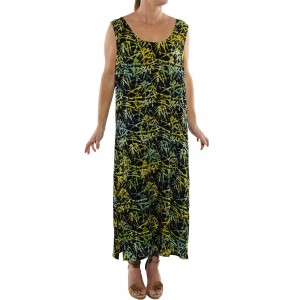 Green Bamboo Tank Dress