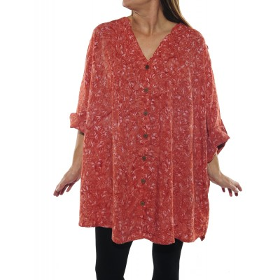 Coral Katherine Blouse FLWCR