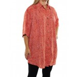 Coral New Tunic Top CIRCR