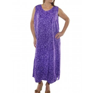 Lavender Tank Dress FLWLV