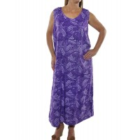 Lavender Tank Dress T73BLV