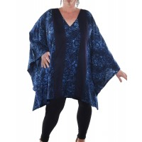 Chicago Blue COMBO West Side Blouse